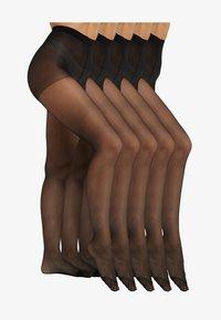 Anna Field - 5 PACK - Panty - black - 1