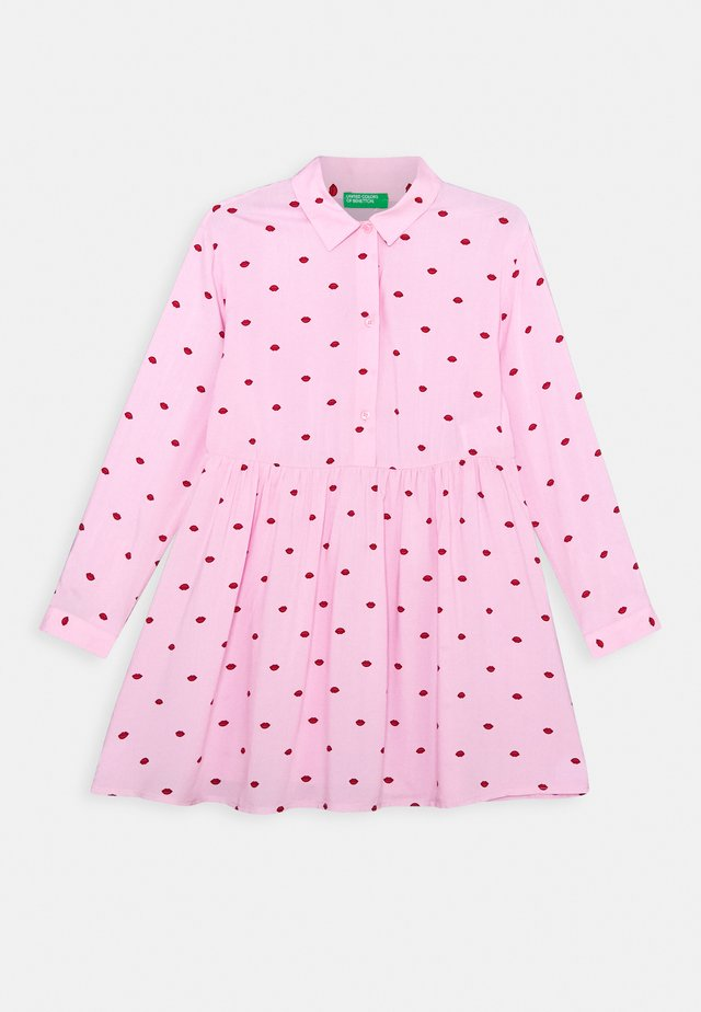 FUNZIONE GIRL - Košilové šaty - light pink