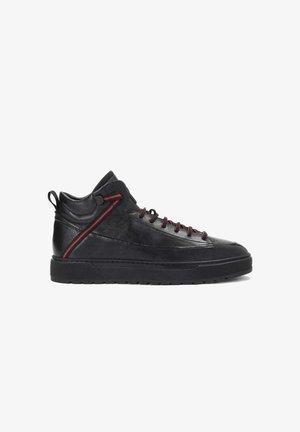 ALISO - Sneakers hoog - black