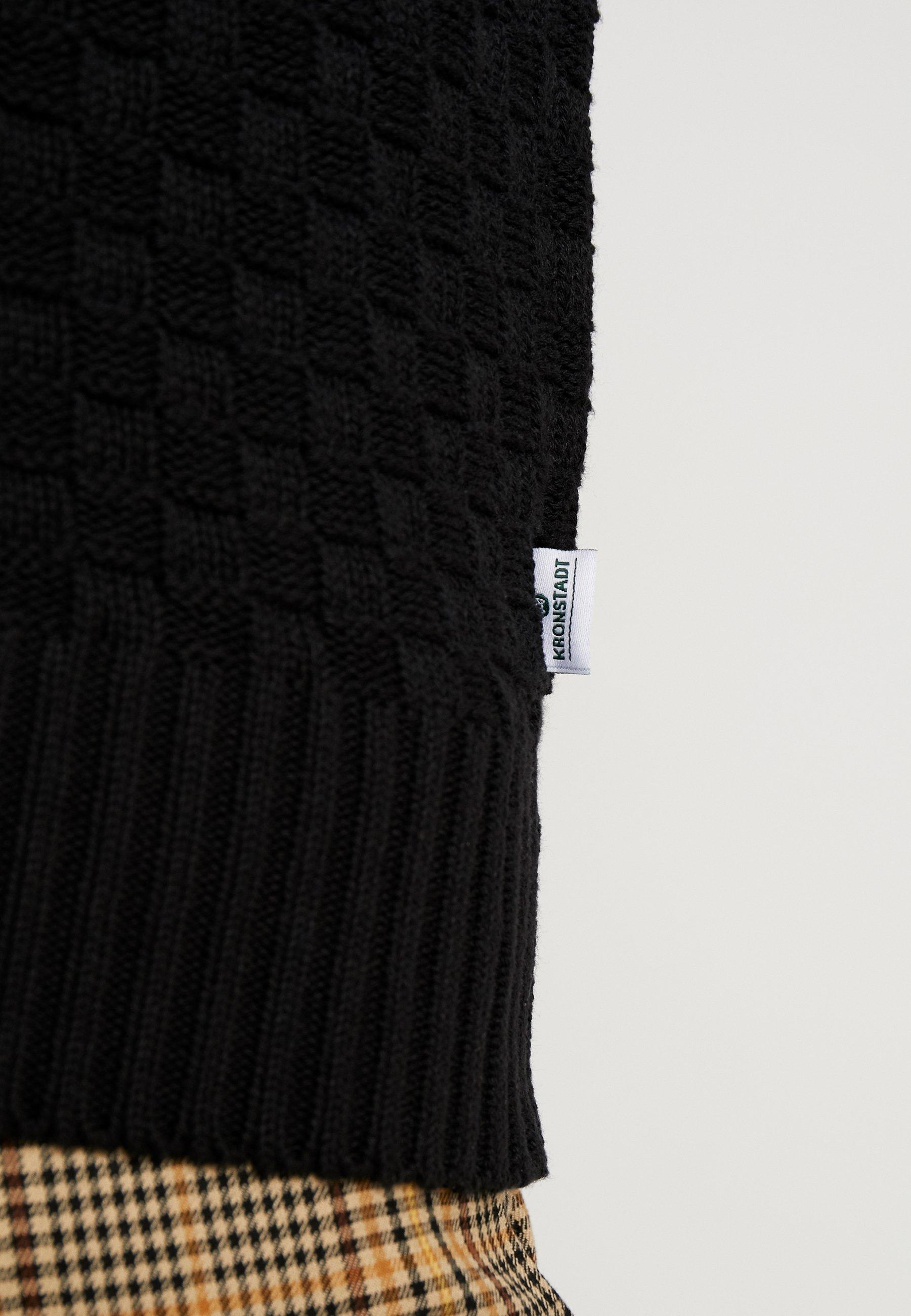 Kronstadt Benjamin - Cardigan Black/svart