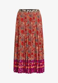 Oui - A-line skirt - red violett - 4