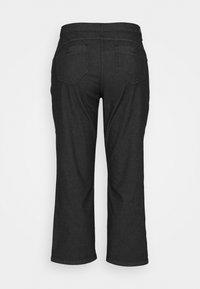 Persona by Marina Rinaldi - REGALE - Straight leg jeans - black - 1