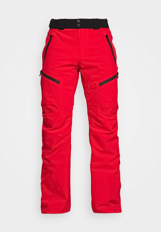 SPIKE - Pantaloni da neve - flame red