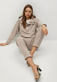 Mango - FLORIDA - Teplákové kalhoty - gris claro/pastel - 4