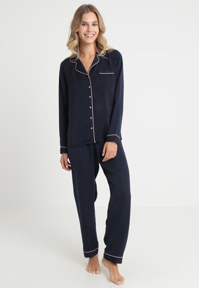 SET - Pyjama set - dark blue