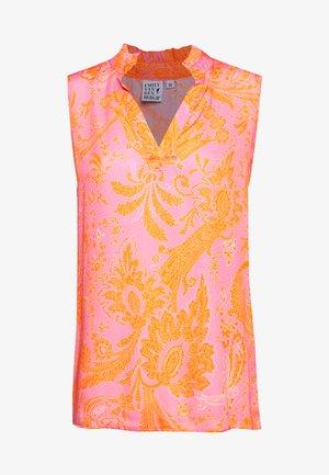 BLOUSE - Bluser - pink/orange