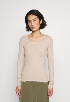 Long sleeved top - cacao
