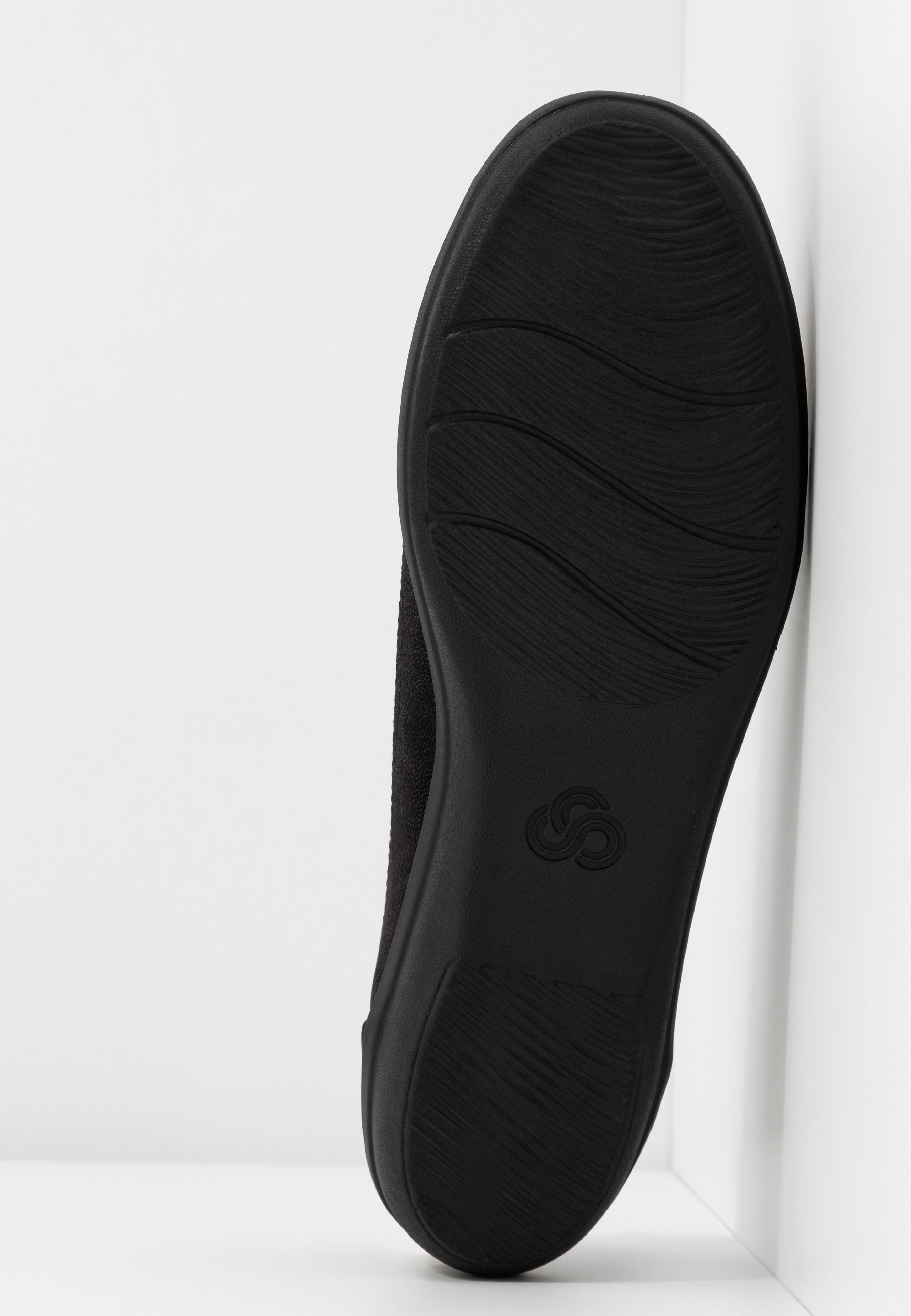 AYLA LOW Ballerinaskor black