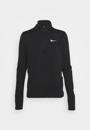 ELEMENT - Sports shirt - black/reflective silver