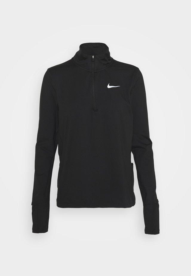 ELEMENT - Sports shirt - black/reflective silver