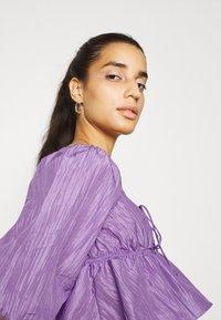 Gina Tricot - BEATRIX BLOUSE - Pitkähihainen paita - purple - 3