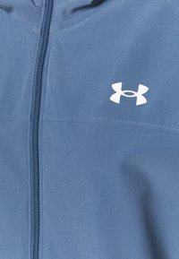 Under Armour - HOODED JACKET - Chaqueta de deporte - mineral blue - 7