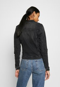 ONLY - ONLTIA LIFE JACKET - Jeansjacke - black denim - 2