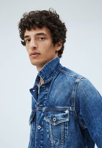 Pepe Jeans - PINNER - Denim jacket - dark blue - 4