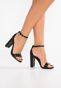 Steve Madden - CARRSON - High heeled sandals - black - 0