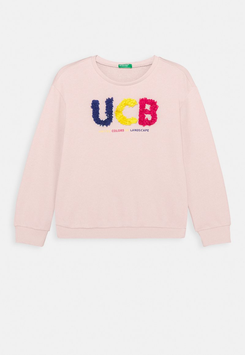 Benetton - FUNZIONE GIRL - Sweater - light pink
