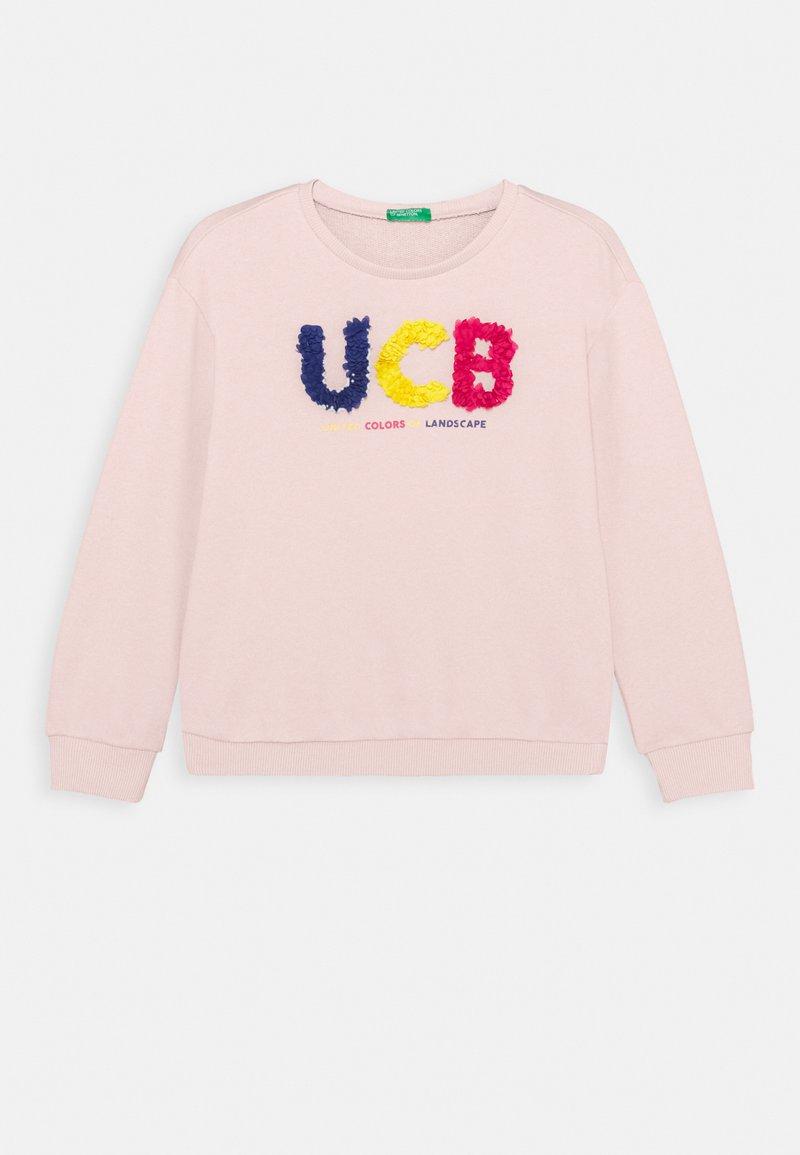 Benetton - FUNZIONE GIRL - Sweatshirt - light pink
