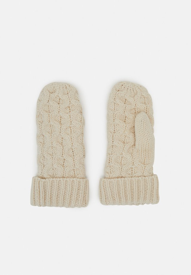 NORA MITTENS - Luffer - powder white