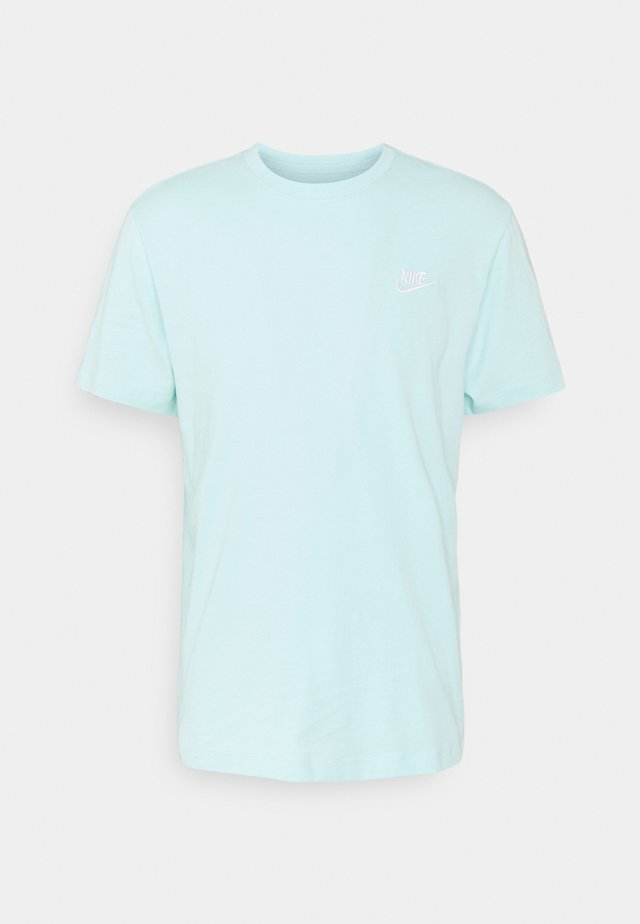 CLUB TEE - T-Shirt basic - light dew/white