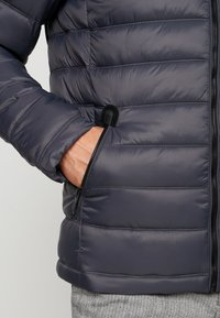 Superdry - COMMUTER QUILTED BIKER - Light jacket - iron gate