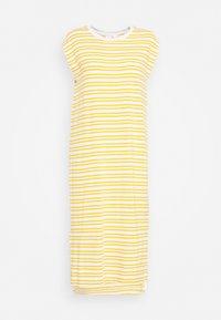 MIDI - Jersey dress - yellow