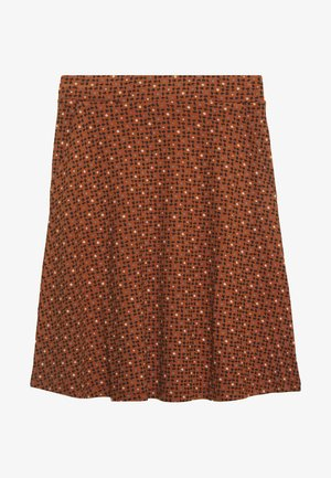 EASY SHAPE - A-line skirt - brown