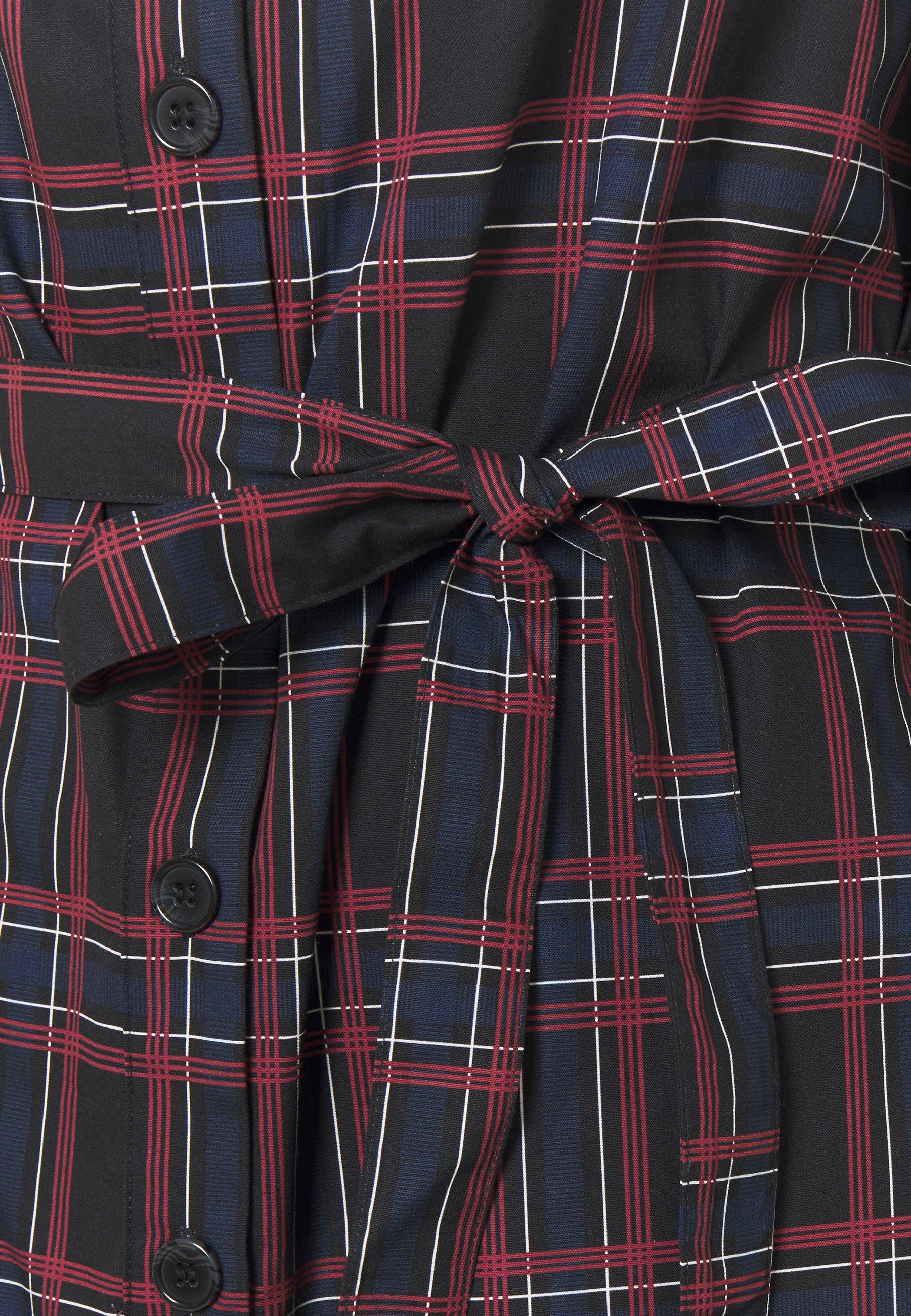 Bruuns Bazaar ELINE MIE DRESS Freizeitkleid red/rot