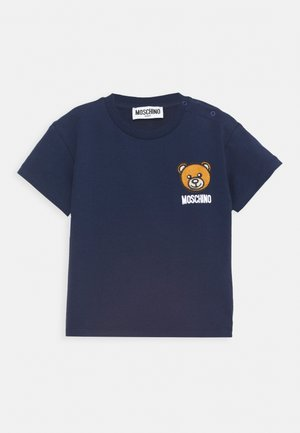 Print T-shirt - blue navy