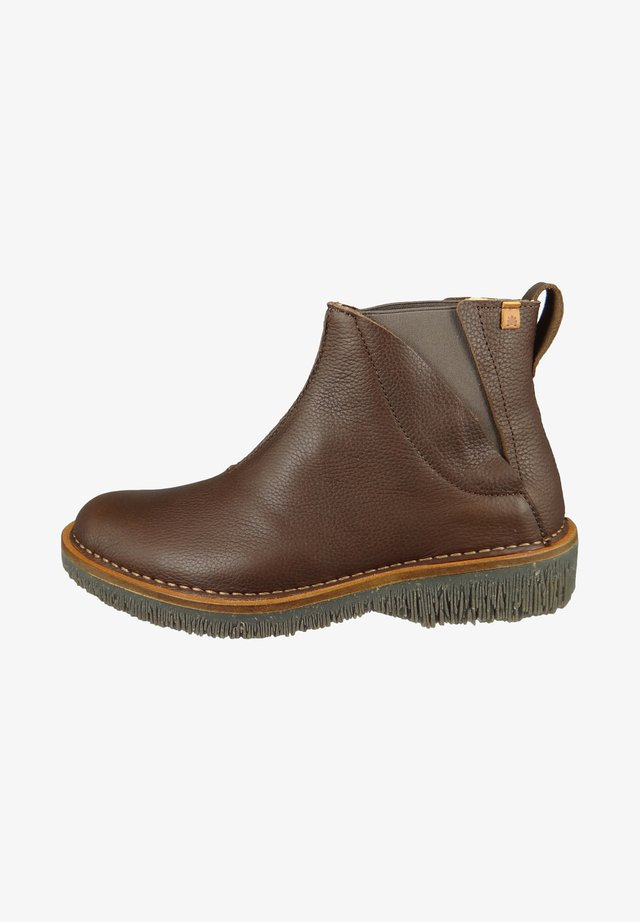 VOLCANO - Ankle boots - brown