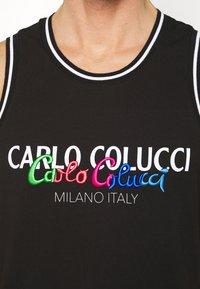 Carlo Colucci - PRIDE TANK - Top - schwarz - 5