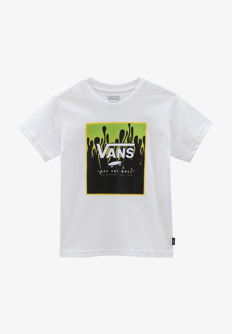 Vans - BY PRINT BOX KIDS - Print T-shirt - white/slime