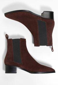 Aeyde - LOU - Kotníkové boty - brown - 4