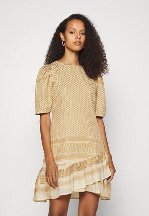 OLIVIA - Day dress - birch/honey mustard