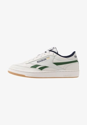 CLUB REVENGE - Matalavartiset tennarit - porcelain/utility green/vector navy