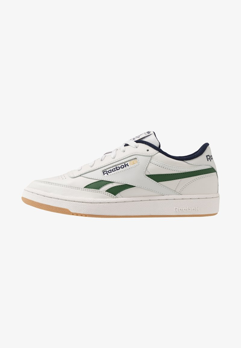 Reebok Classic - CLUB REVENGE - Sneakers laag - porcelain/utility green/vector navy