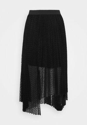 JANA - A-snit nederdel/ A-formede nederdele - noir