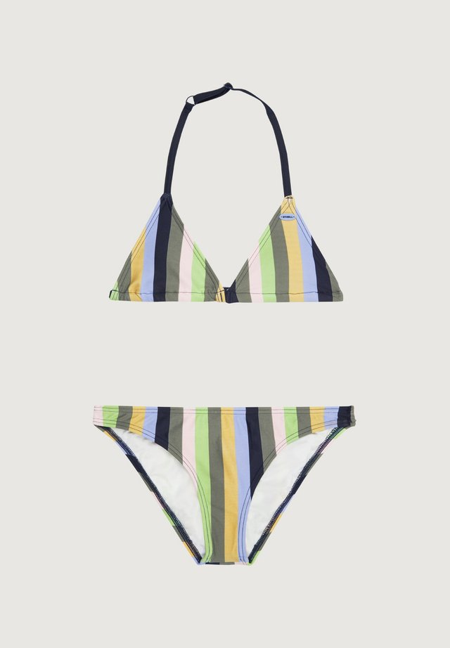VENICE - Bikini - green aop w/ green