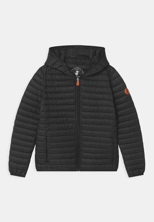 EVAN HOODED UNISEX - Light jacket - black