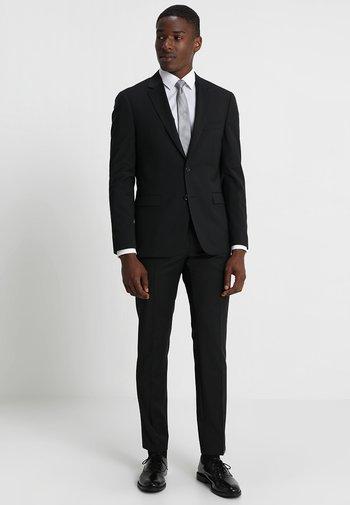 SLIM FIT SUIT - Oblek - black