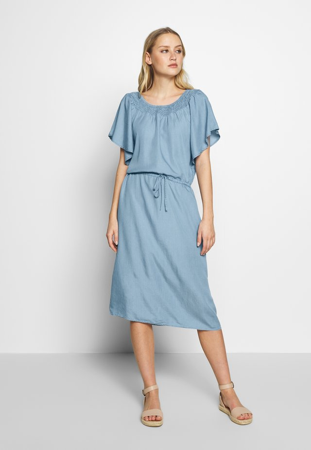 LIV - Denim dress - light blue denim