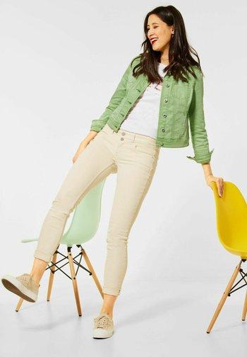 Denim jacket - grün