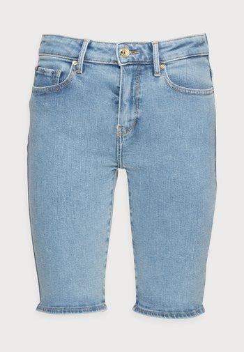 VENICE SLIM BERMUDA - Denim shorts - denim
