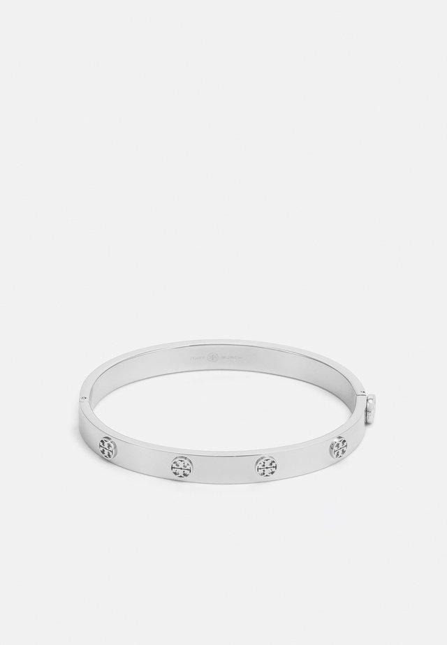 MILLER STUD HINGE BRACELET - Armband - silver-coloured