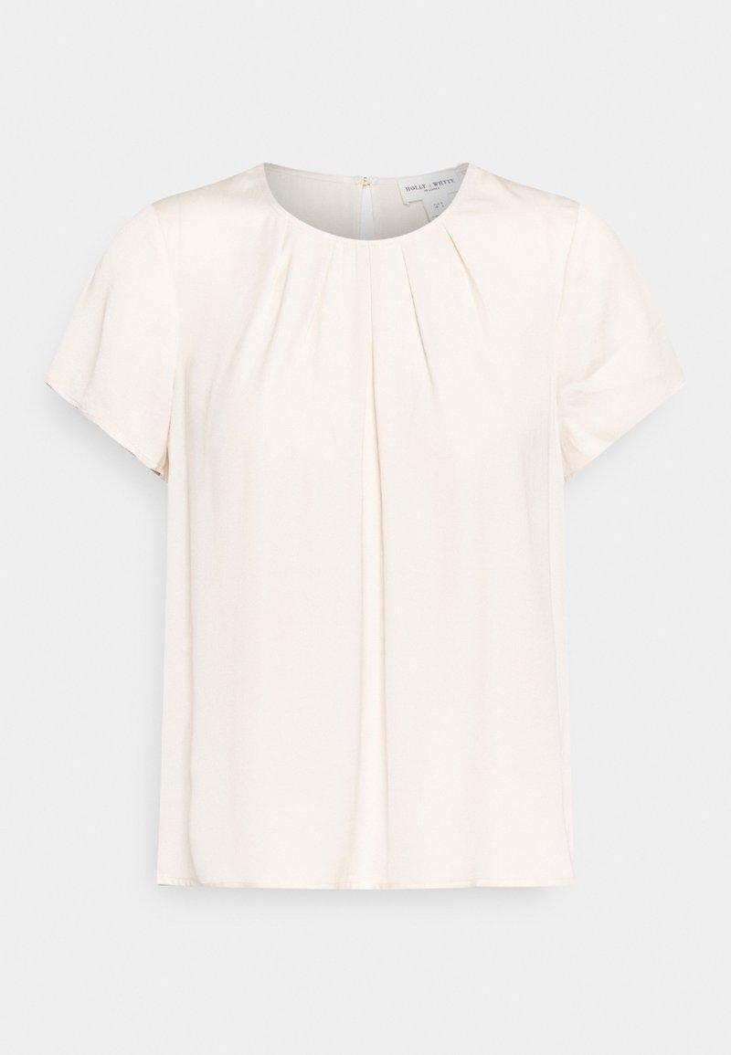Lindex - BLOUSE JULIET - T-shirts - light dusty beige
