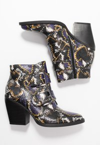Madden Girl - CALISTA - Ankle boots - blue/multicolor - 3