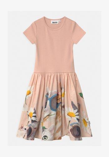 CISSA - Jersey dress - light pink