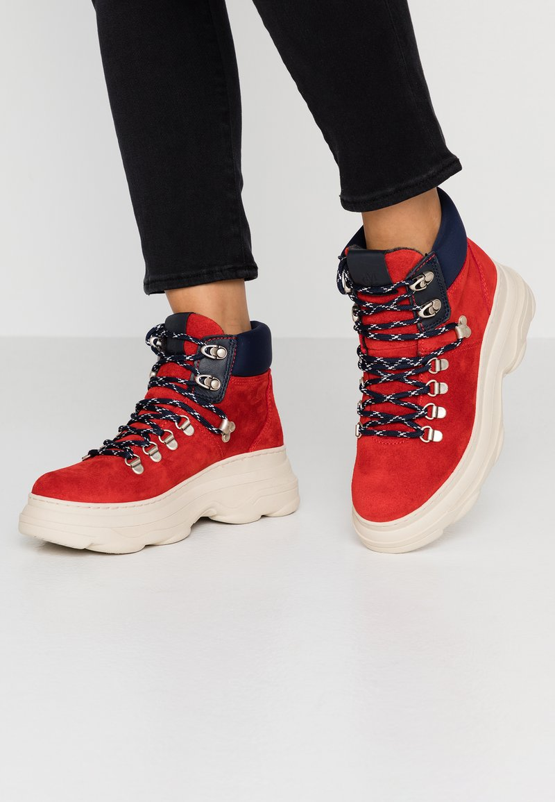 Marc O'Polo - Ankelboots - red