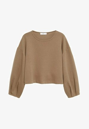 PAUL - Sweatshirt - marron moyen