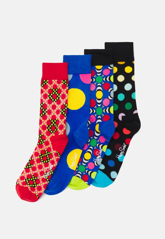 CLASSIC DOTS GIFT SET CREW SOCKS 4 PACK - Sukat - multi-coloured