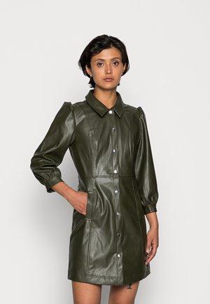 ONLNAIA DRESS - Shirt dress - forest night